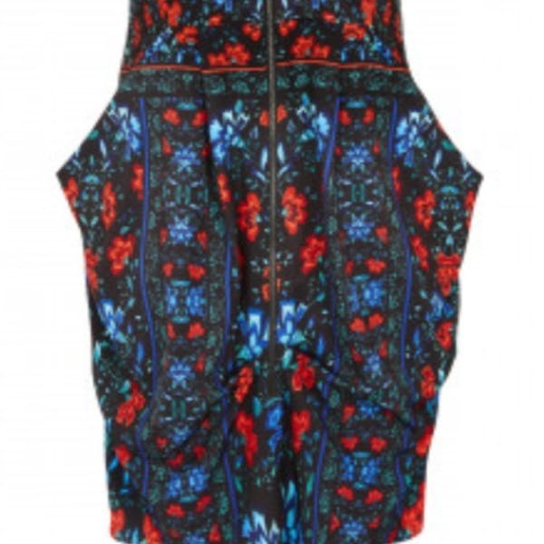 City Chic Zip up tunic dress with pocket NWT photo three