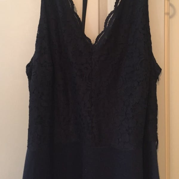 ASOS ASOS Curve Black Dress photo three
