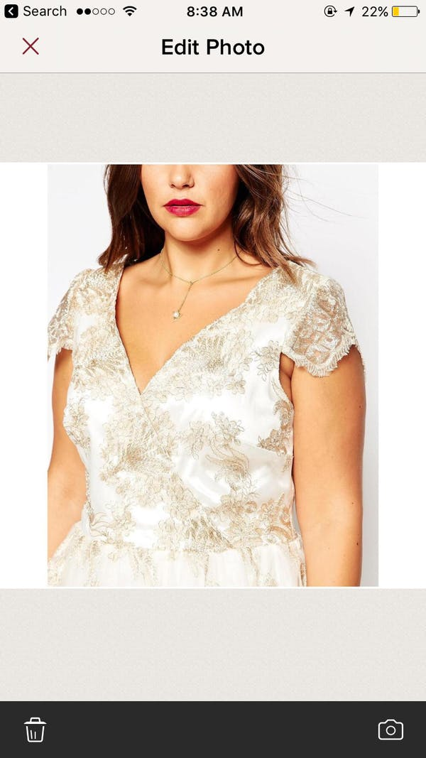 ASOS Asos Chi Chi London prom dress photo three