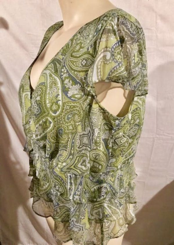 Other Inc International Concepts Blouse Size: 14W photo three