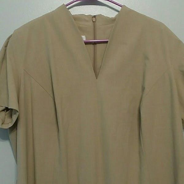 Talbots Talbots V Neck Plus Size Dress! NWOT photo two