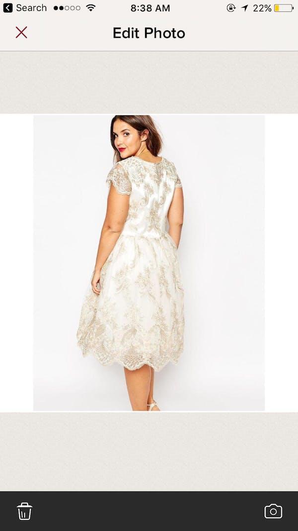 ASOS Asos Chi Chi London prom dress photo two