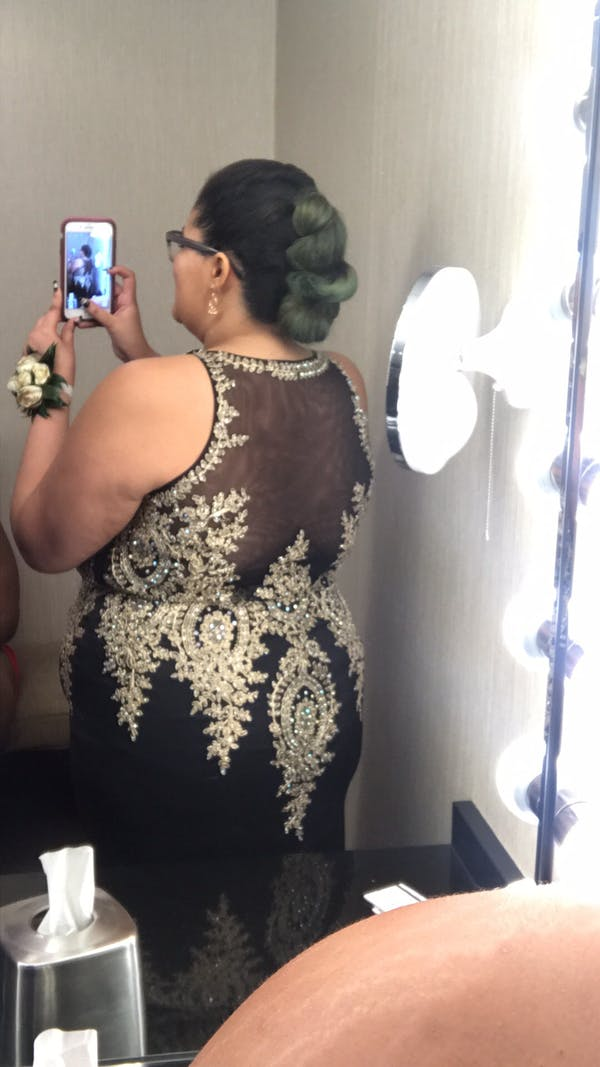 Other Morilee plus size prom dress photo two
