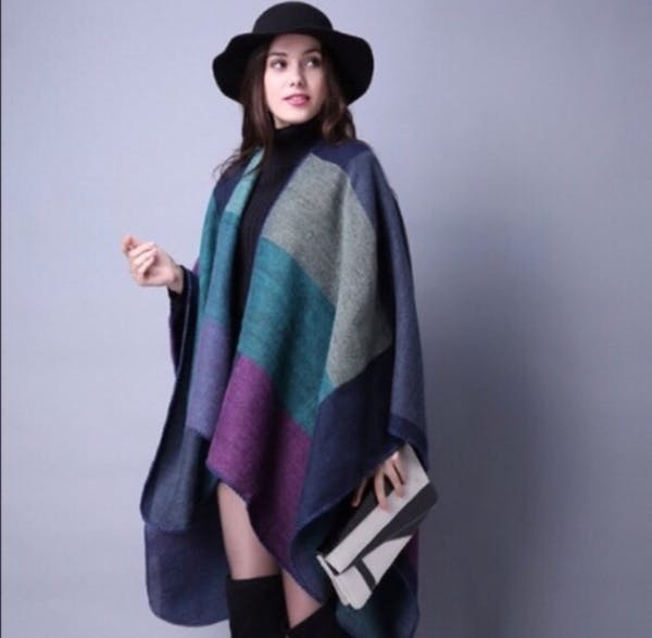 Other BEAUTIFUL COLOR TONES PONCHO photo two