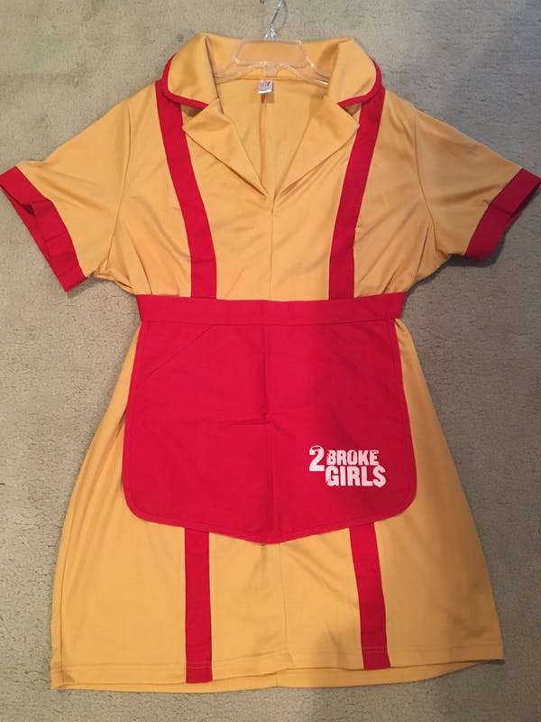 Other 2 Broke Girls Waitress Costume photo two