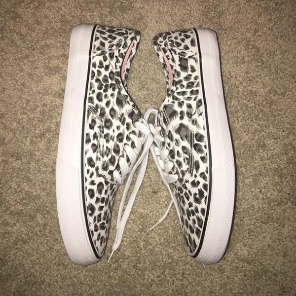 Other Leopard Print Canvas Sneakers photo two