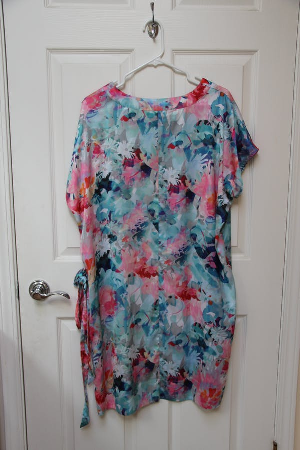 Liz Clairborne Gorgeous Sleeveless Floral A-Line Dress photo two