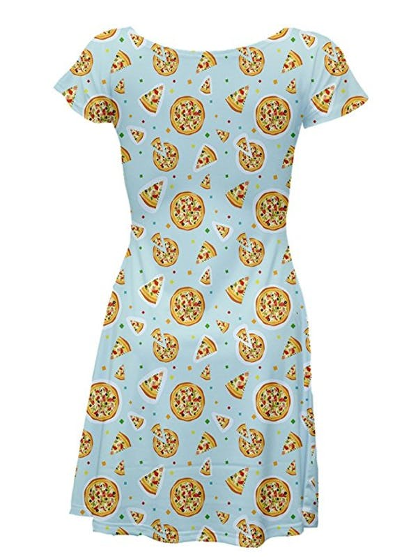 CowCow CowCow Pizza Confetti Skater Dress photo two