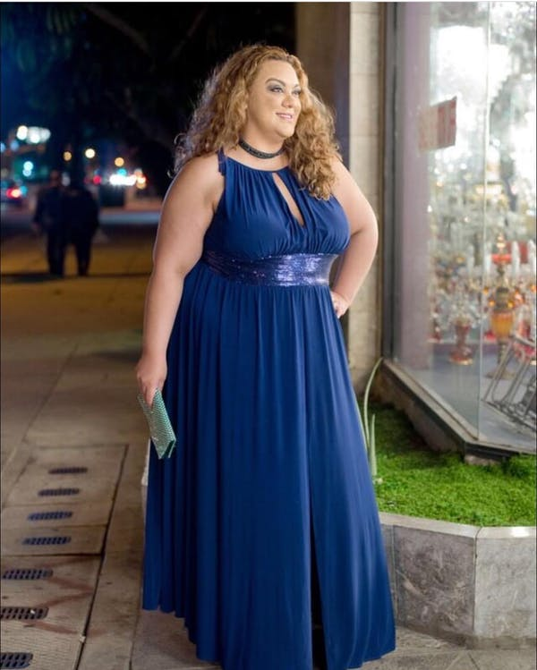 Other Blue evening gown