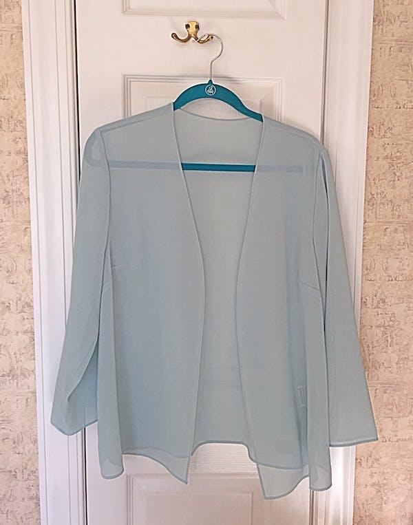 Other Sea Glass green dress jacket