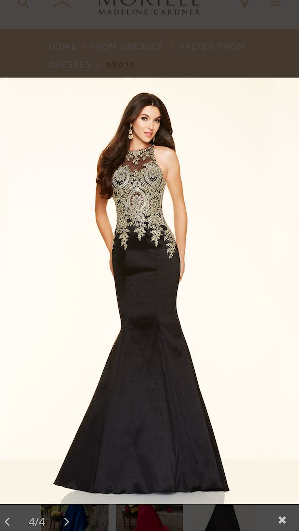 Other Morilee plus size prom dress