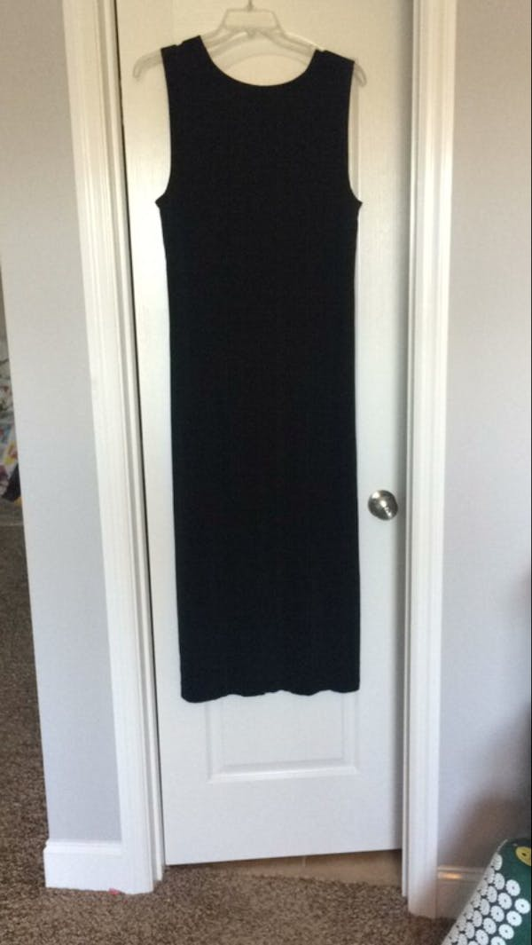 Other Black stretch casual dress