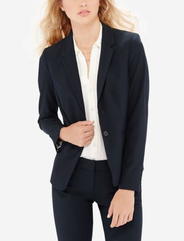The Limited Navy blue suit jacket blazer NWT