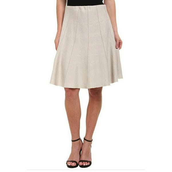 Other Nic & Zoe Paneled Swirl Skirt NWT
