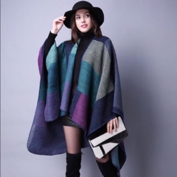 Other BEAUTIFUL COLOR TONES PONCHO