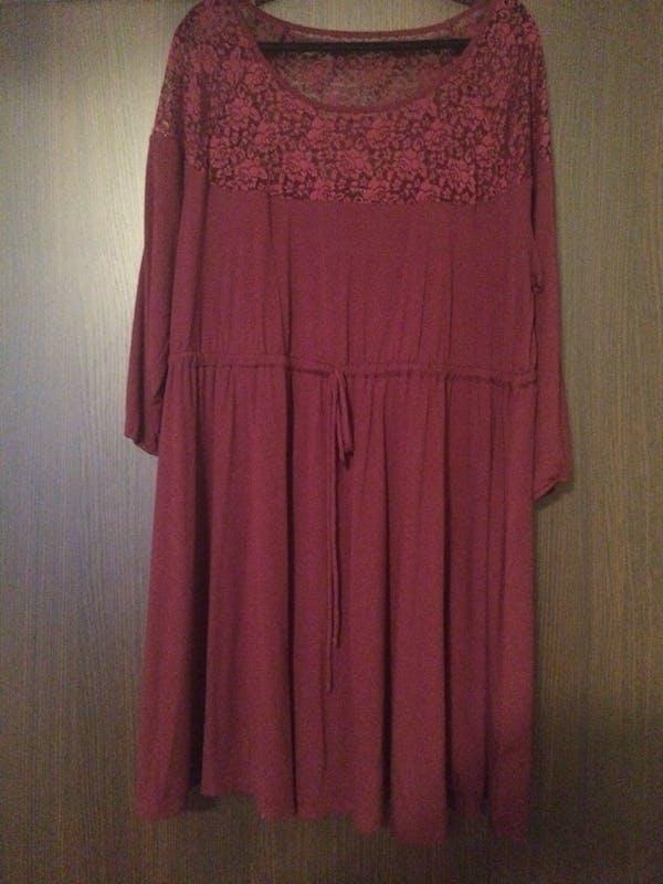 Torrid Burgundy stretchy dress