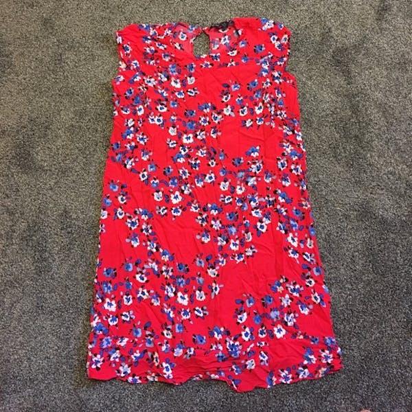 Eloquii Floral shift dress