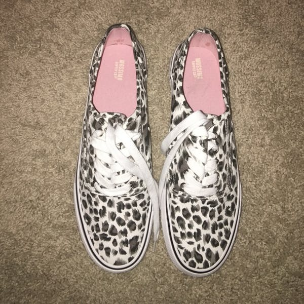 Other Leopard Print Canvas Sneakers