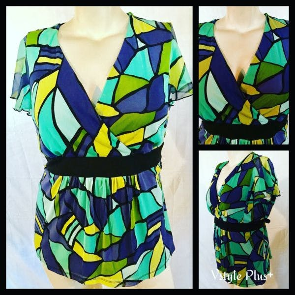 Other Apt 9 Woman's Top : 1X