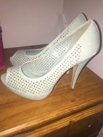 Apt 9 Sea foam green heels