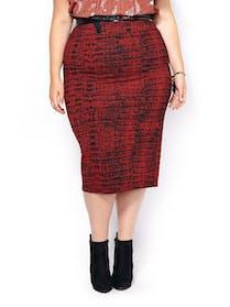 Melissa McCarthy Ponte Pencil Skirt by Melissa McCarthy