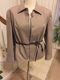Other Khaki belted blazer