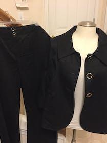 Style & Co black pant suit