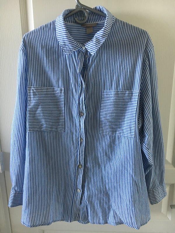 H&M+ Stripped shirt