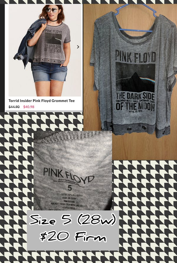 Torrid Pink Floyd Tshirt