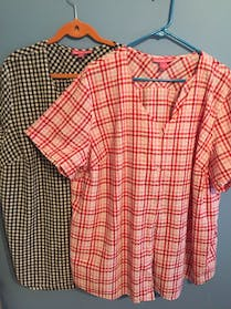 Woman Within 2 new summer tops
