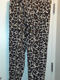 Other Wet Seal + Animal Print Joggers